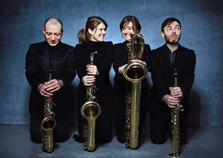 Unerhörte Musik als Live-Stream mit dem sonic.art Quartett